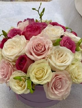 Roses and Orchids Bouquet