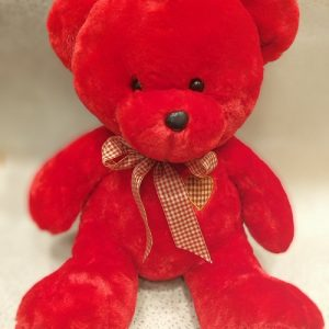 teddy bear red to go with flowers