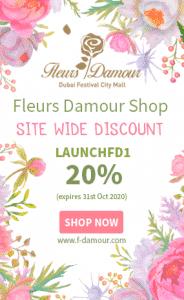 fleurs damour flowers dubai discount